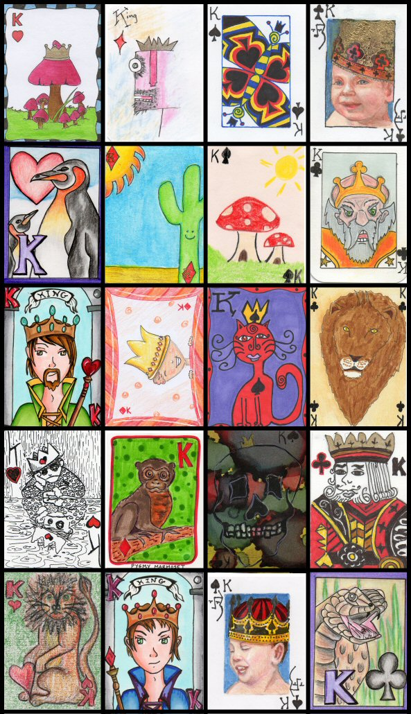 Deck of Cards - Kings Swap!